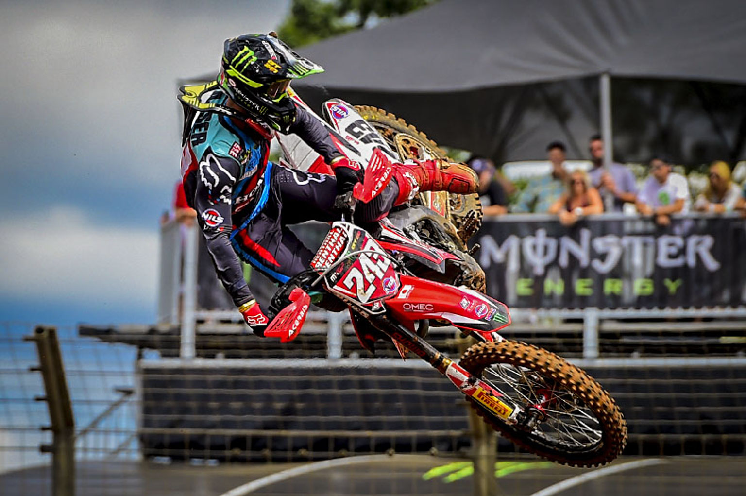 World champ Tim Gajser is back from injury and keen to win