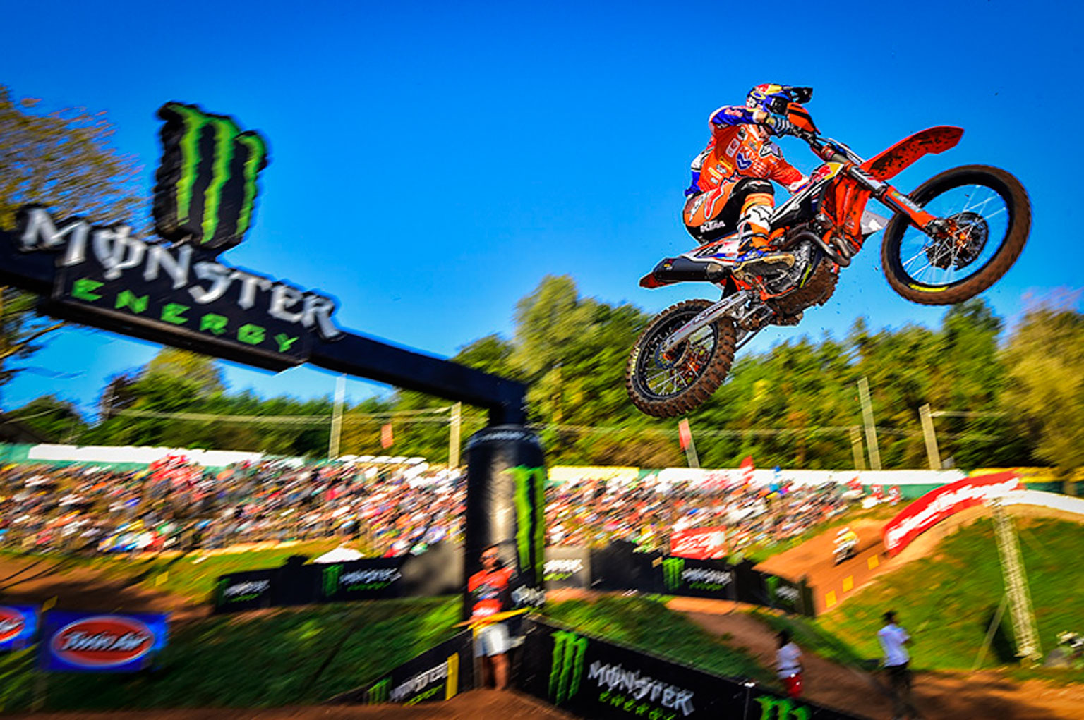 Jeffrey Herlings is one of Team KTM