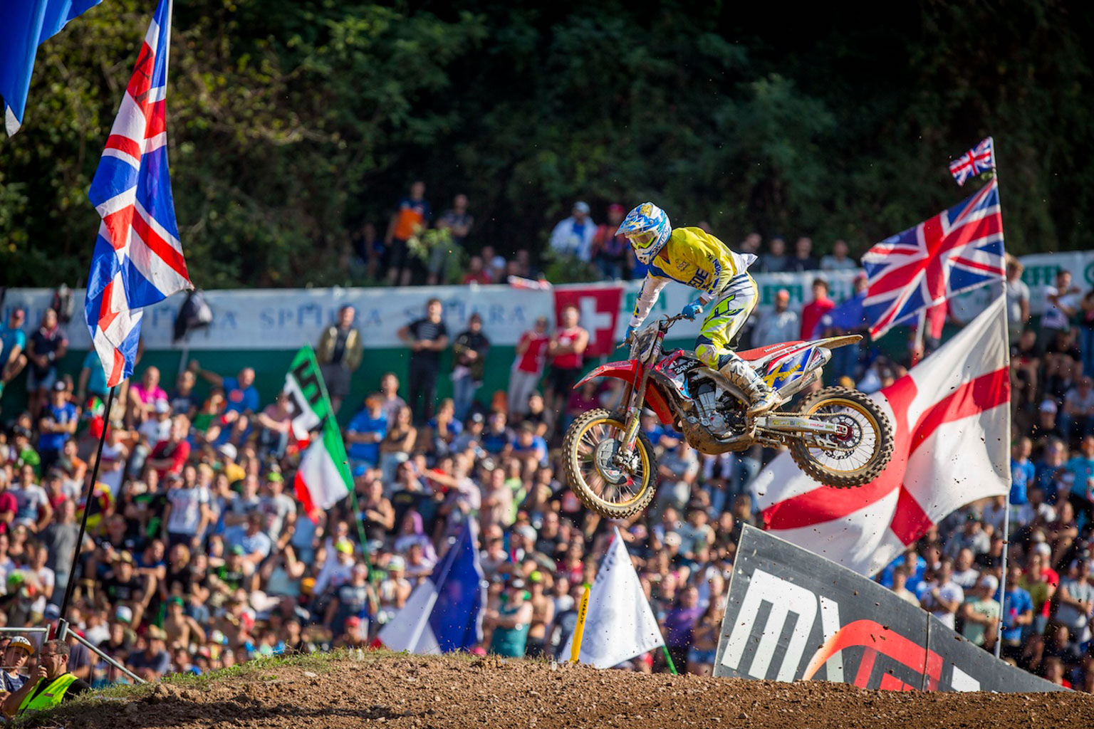The Nations was a rare motocross appearance in Europe for Swede Noren