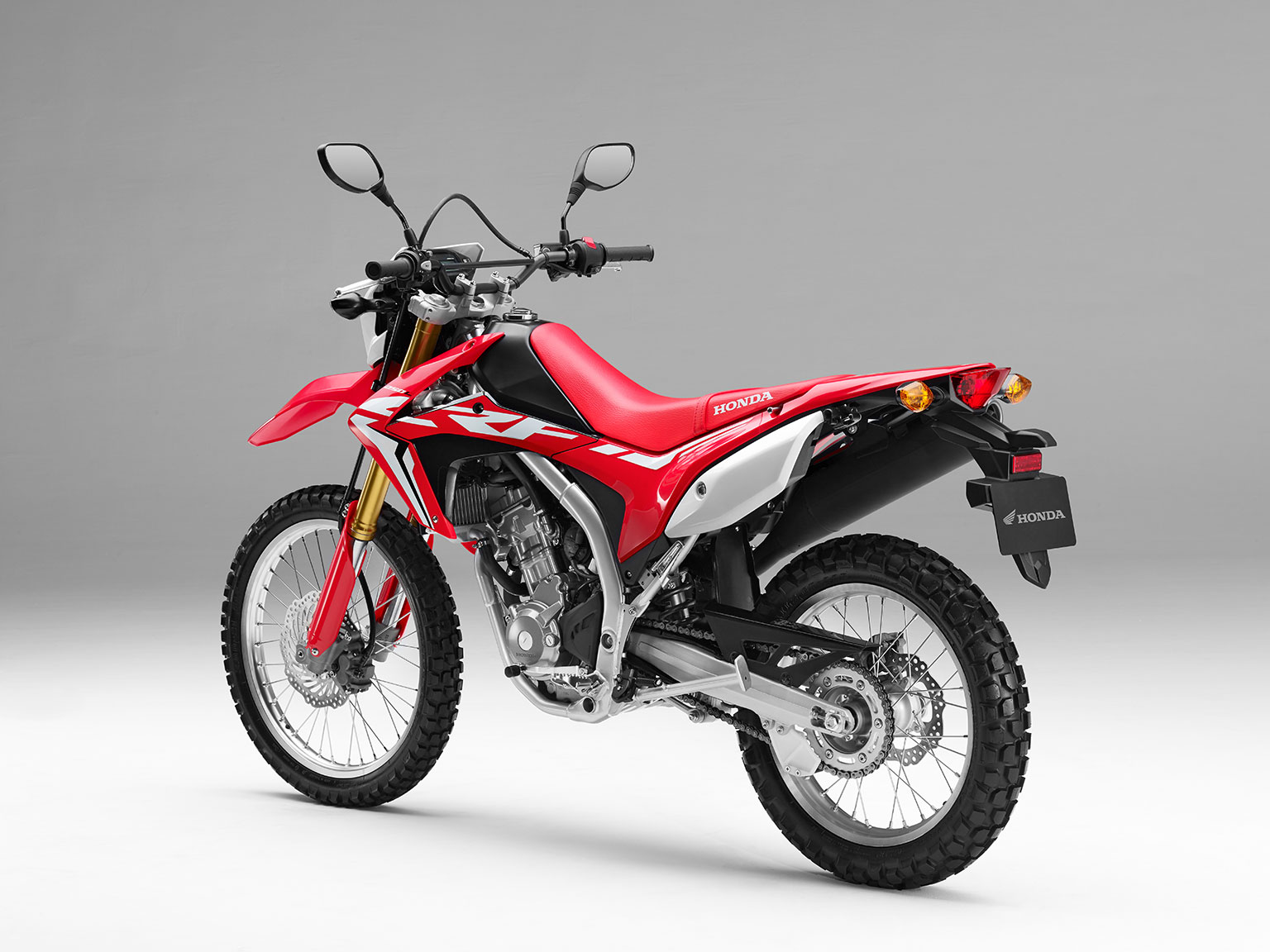 Crf450 Style For Hondas 250 Trailies Motohead