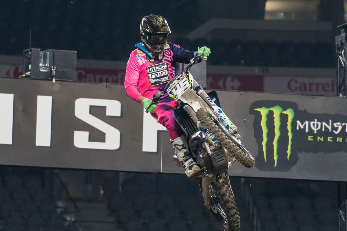 Jake Nicholls is still getting used to the 250 but having fun