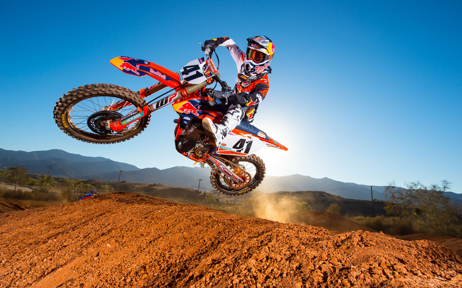 Trey Canard is the team newbie after years on Honda