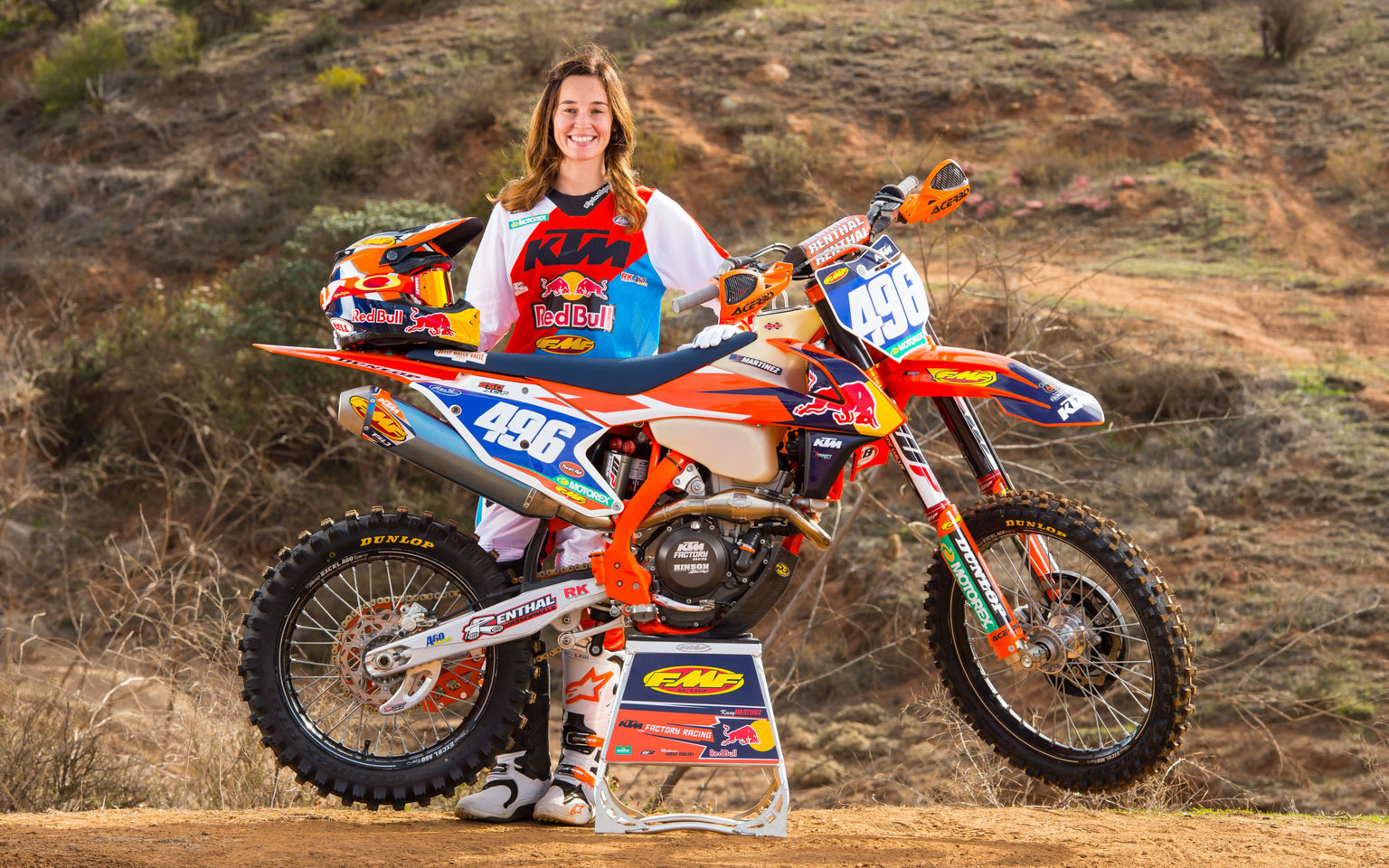 Martinez is a top racer and on team KTM for 2017