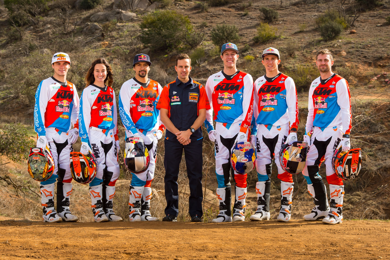 Team KTM USA enduro!