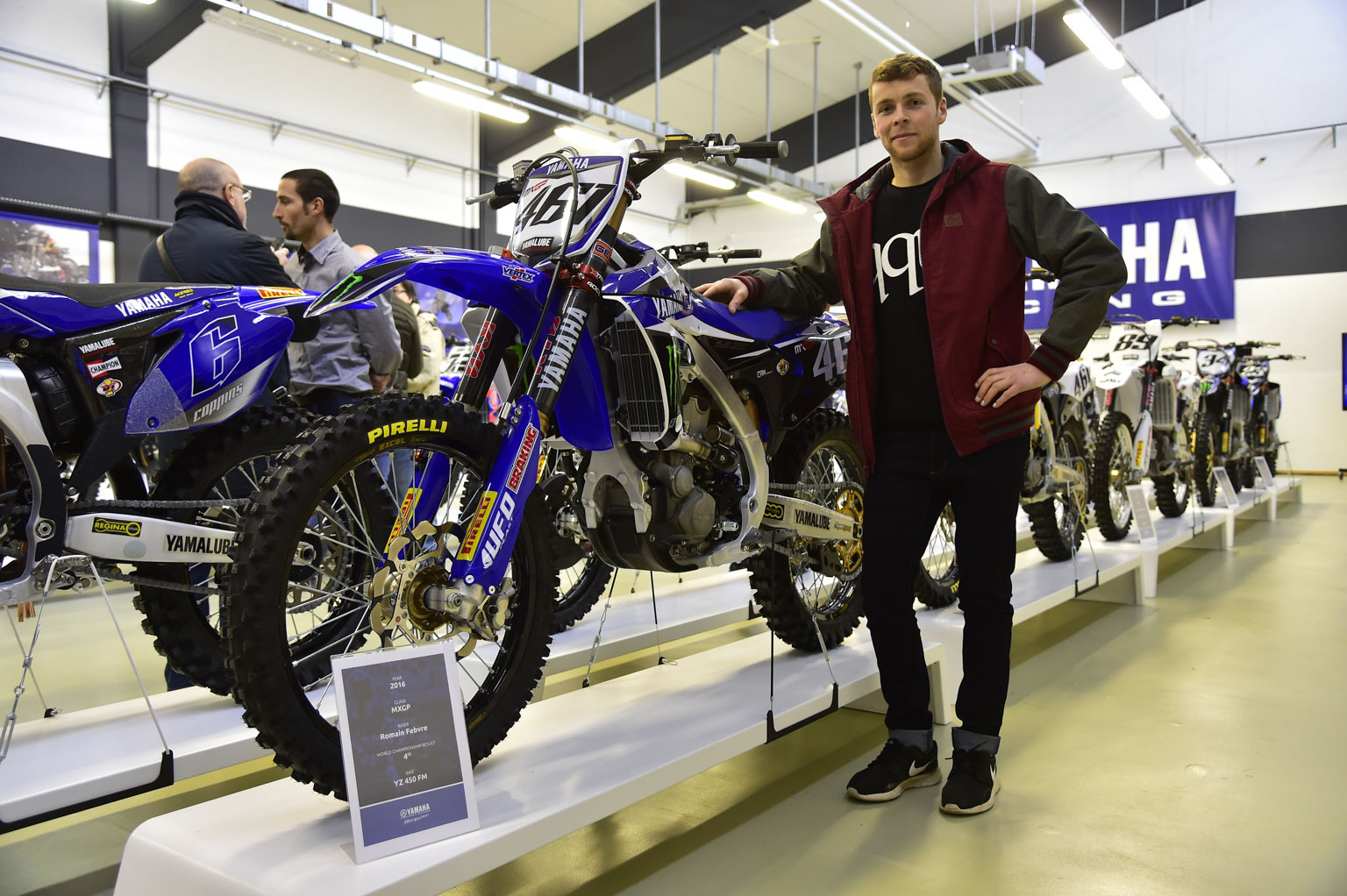 Romain Febvre and title-winning YZF450