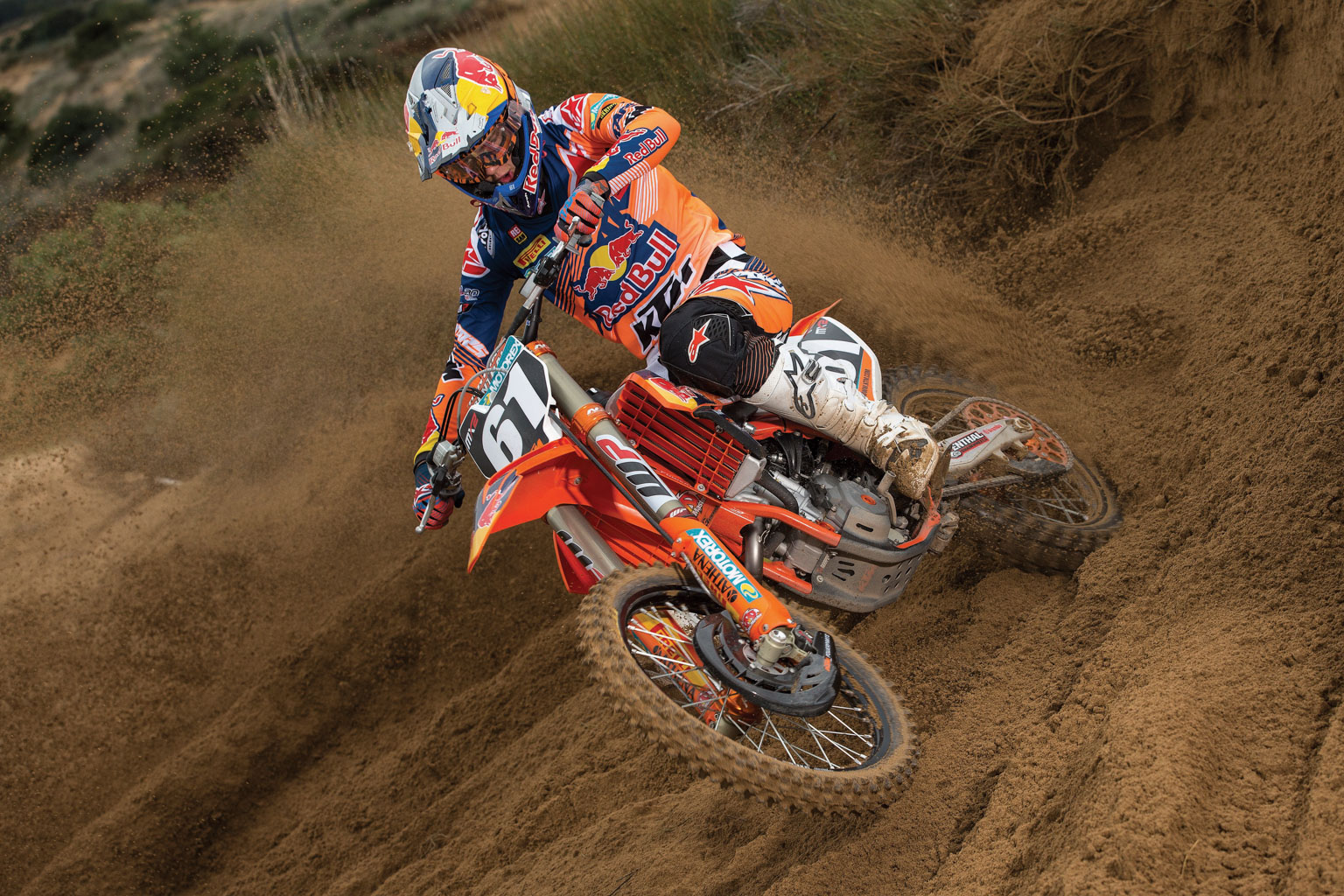 Prado dominated the MX2 race