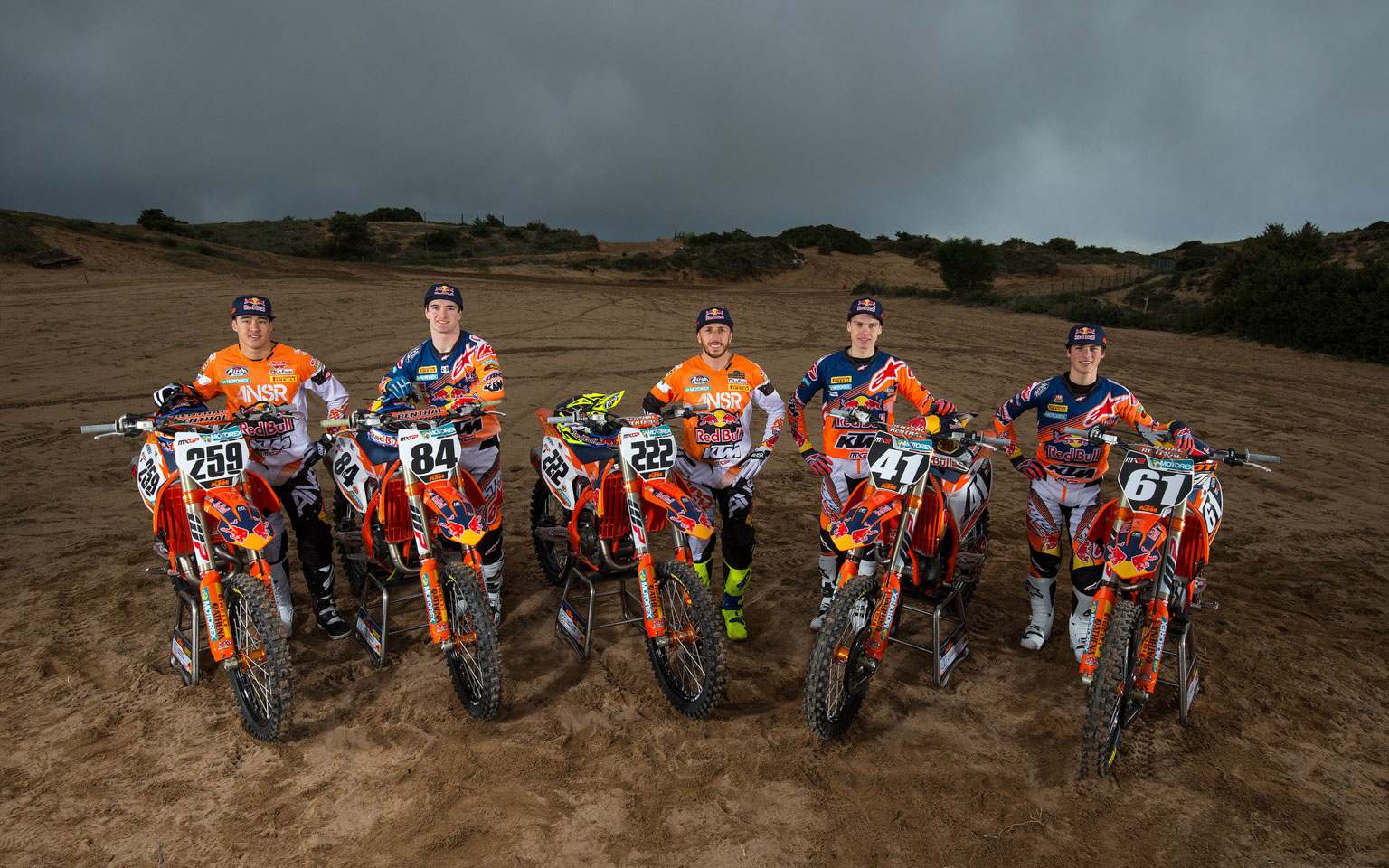 Ktm 450 Sx >> KTM's factory team officially launched! - MotoHead