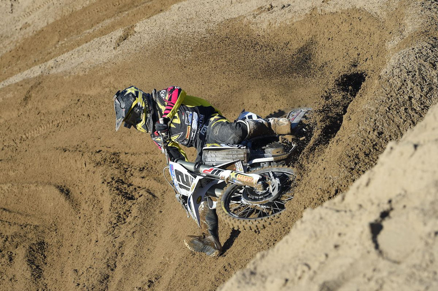 Max Nagl didn't have the greatest day