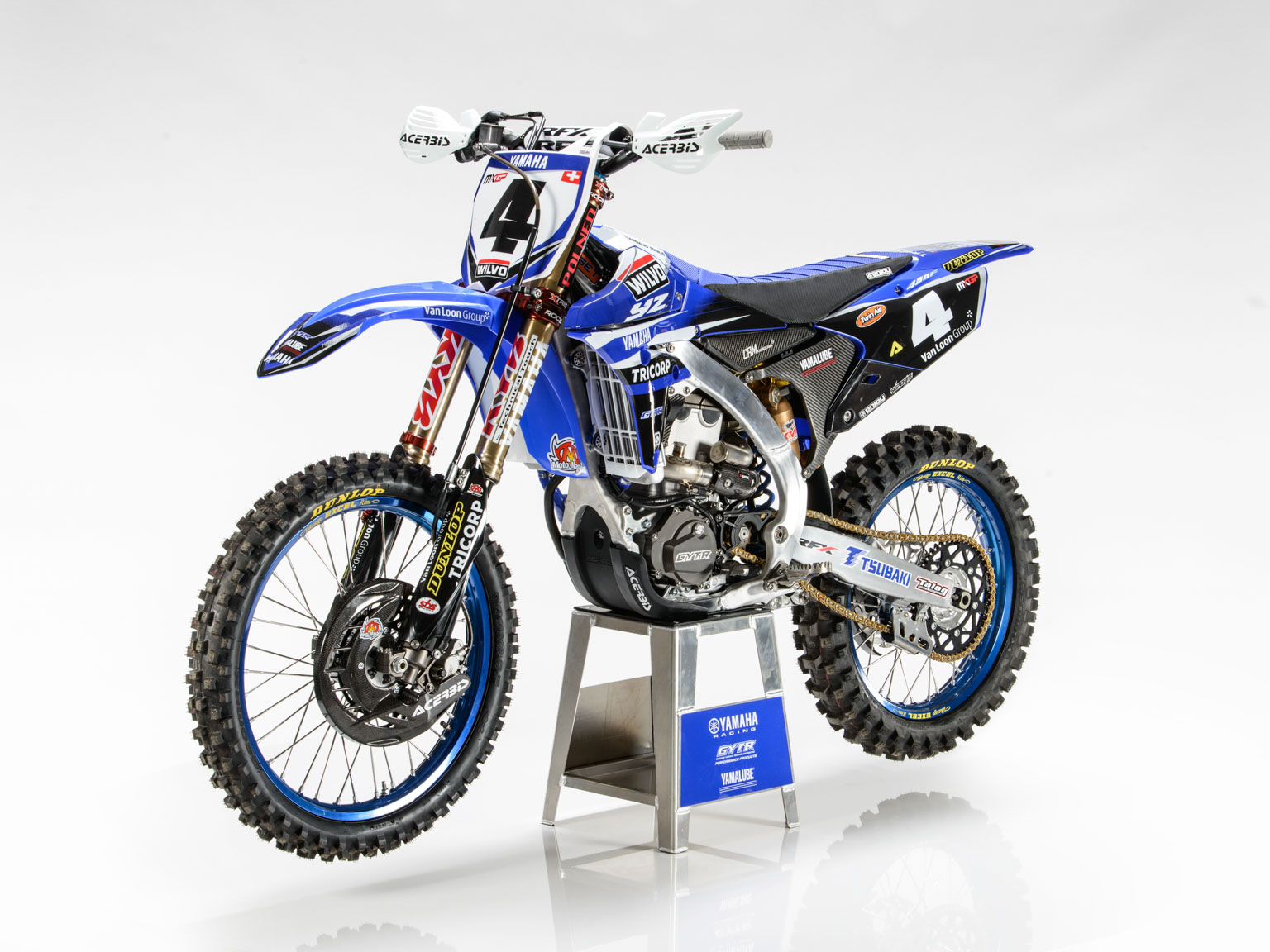 Arnaud Tonus' race bike