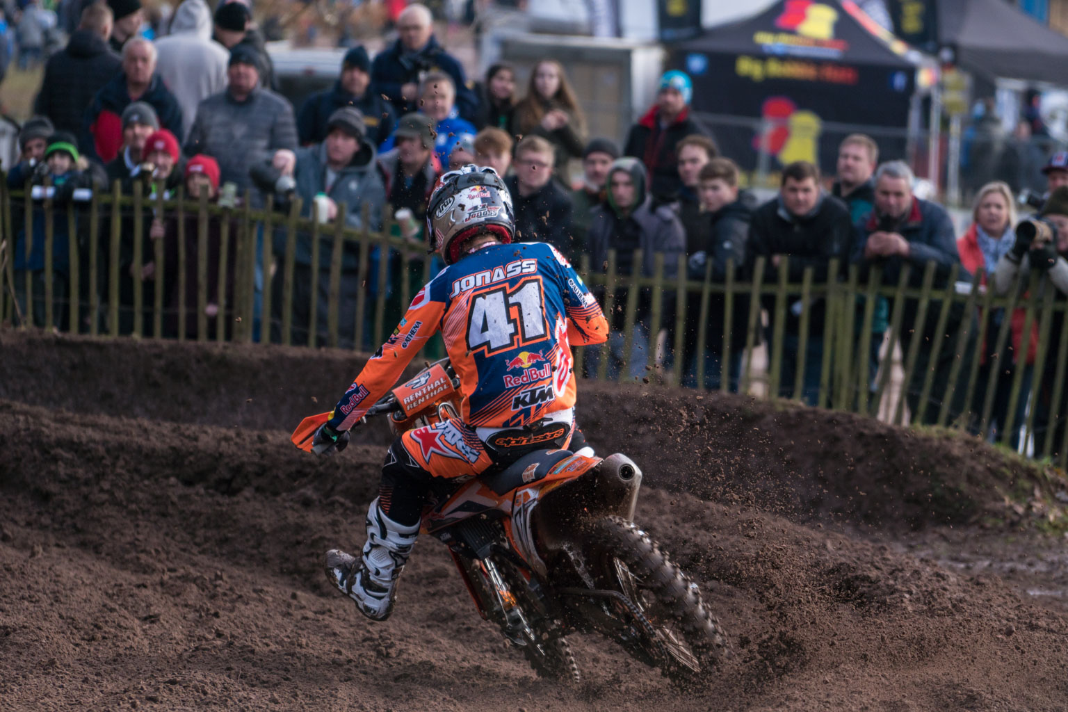 Jonass was the dominant force in MX2