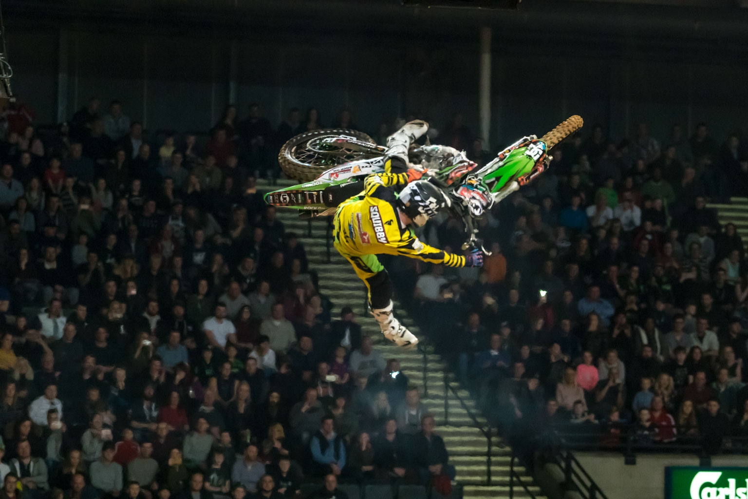 Jamie Squibb styles in the FMX