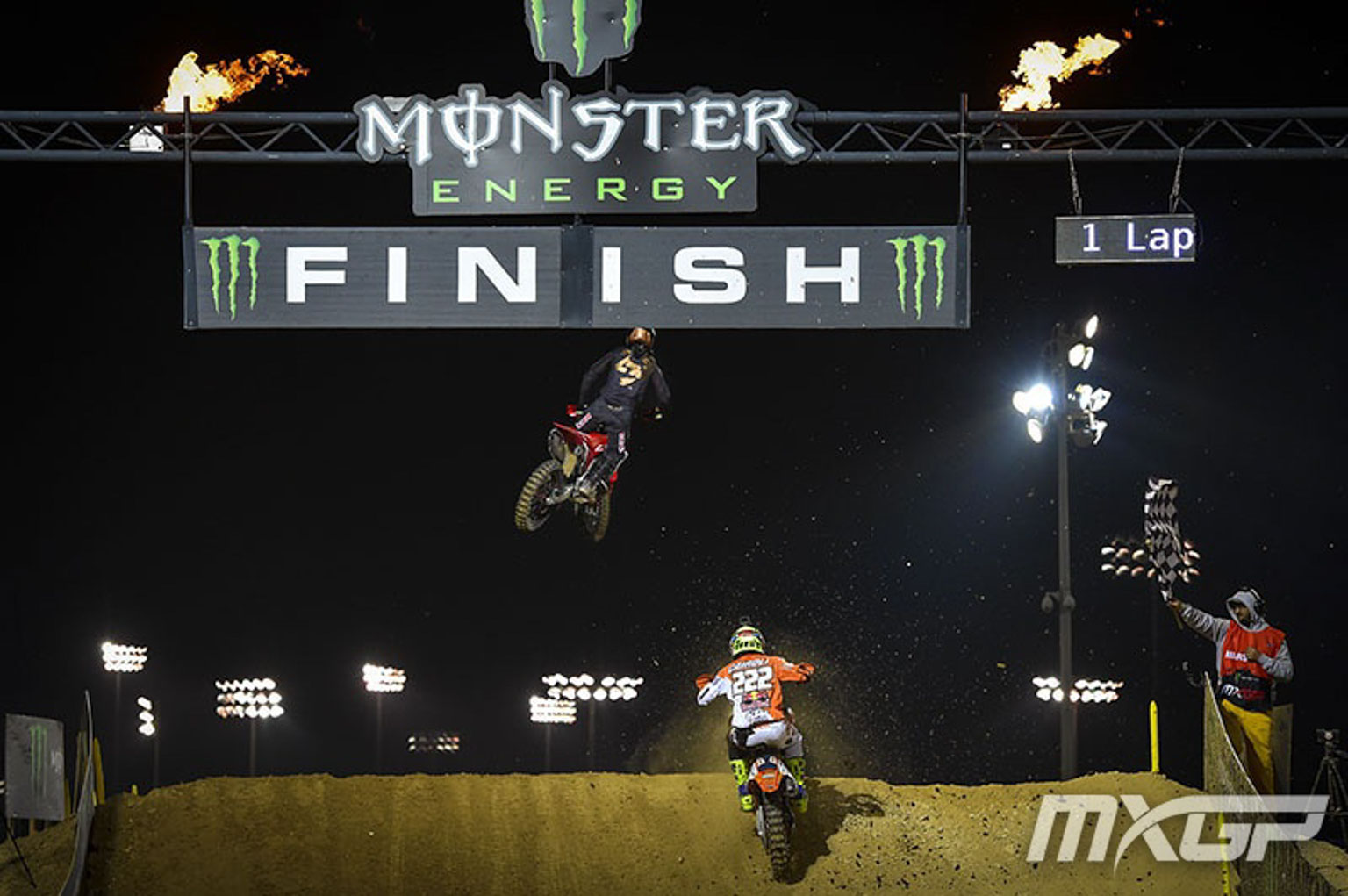 Cairoli chases Gajser over the finish line