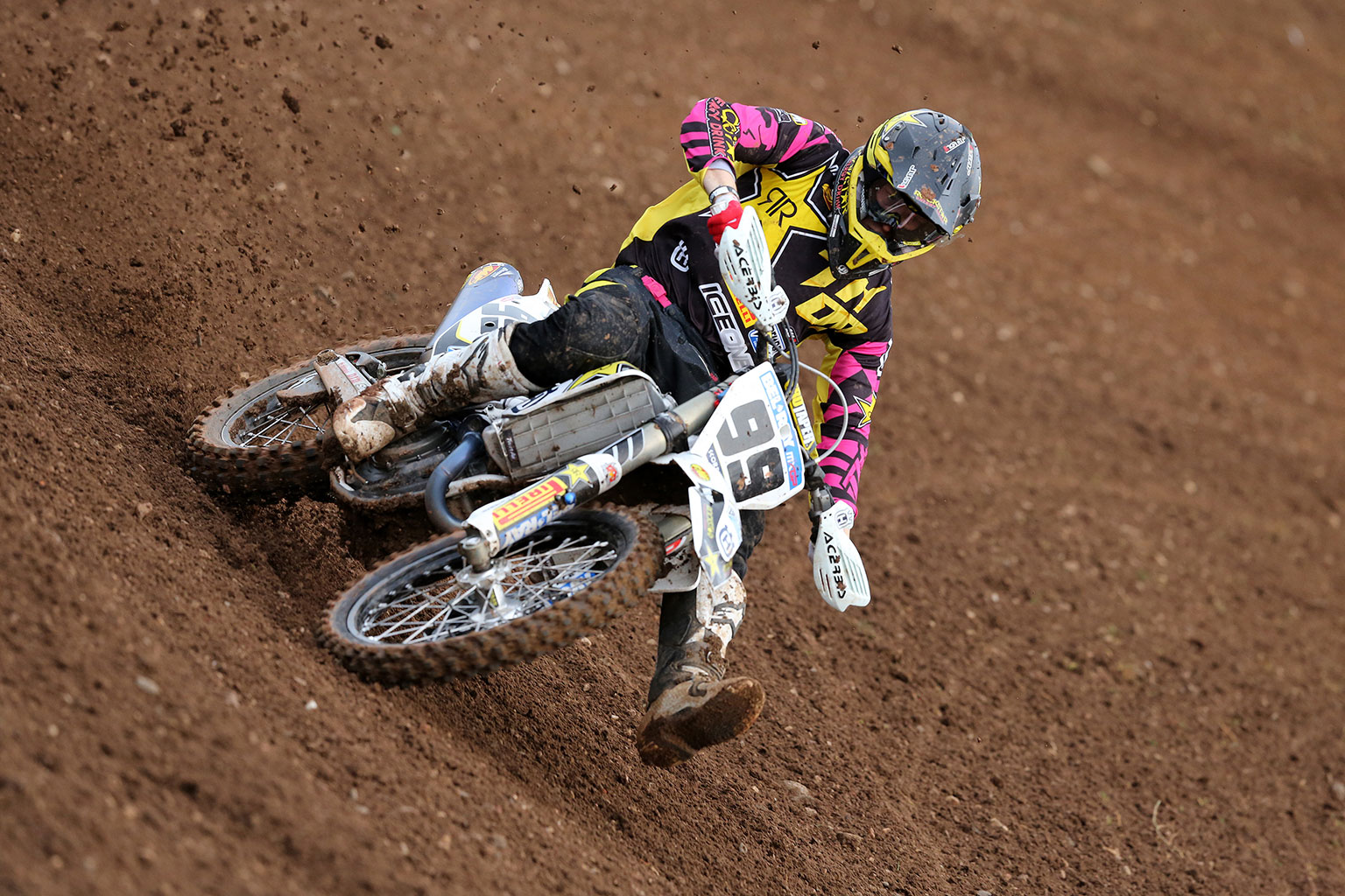 Anstie had a solid day