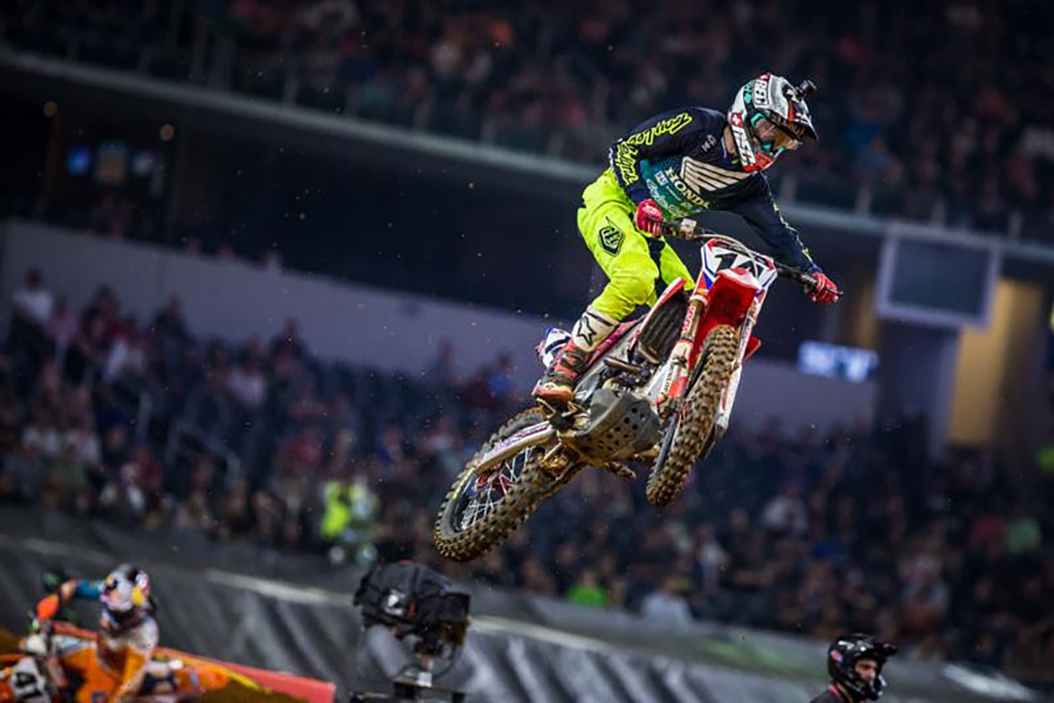 Seely ended on the podium