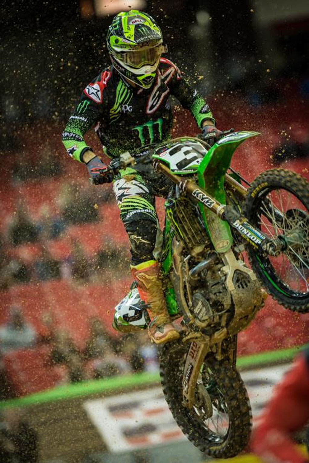 Tomac was on the podium again