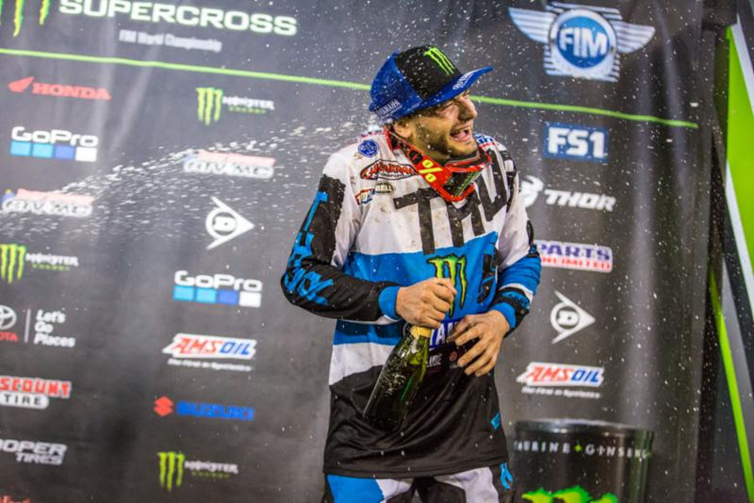 Cooper Webb finally tasted podium glory
