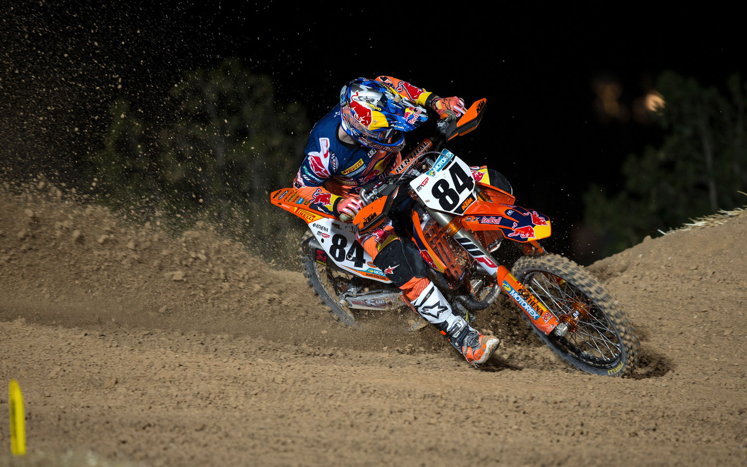 Herlings rode in pain in the opening Qatar GP