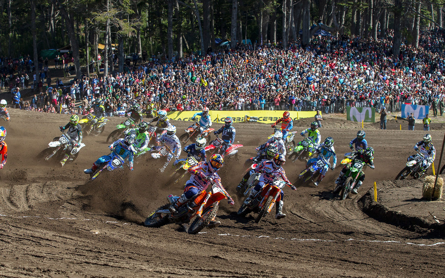 A great track and a big crowd were the perfect recipe for GP motocross
