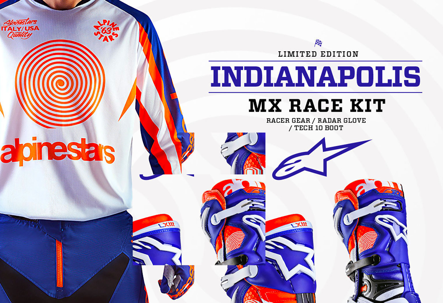 Celebrate Indy With Alpinestars Motohead