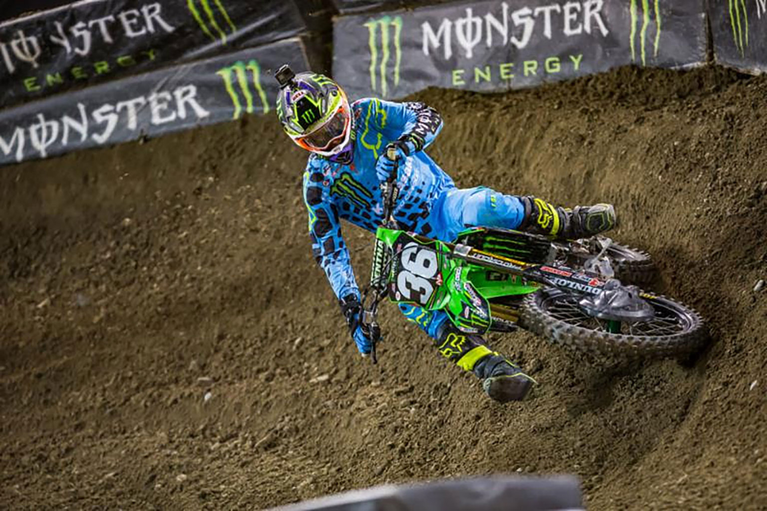 Adam Cianciarulo is getting stronger