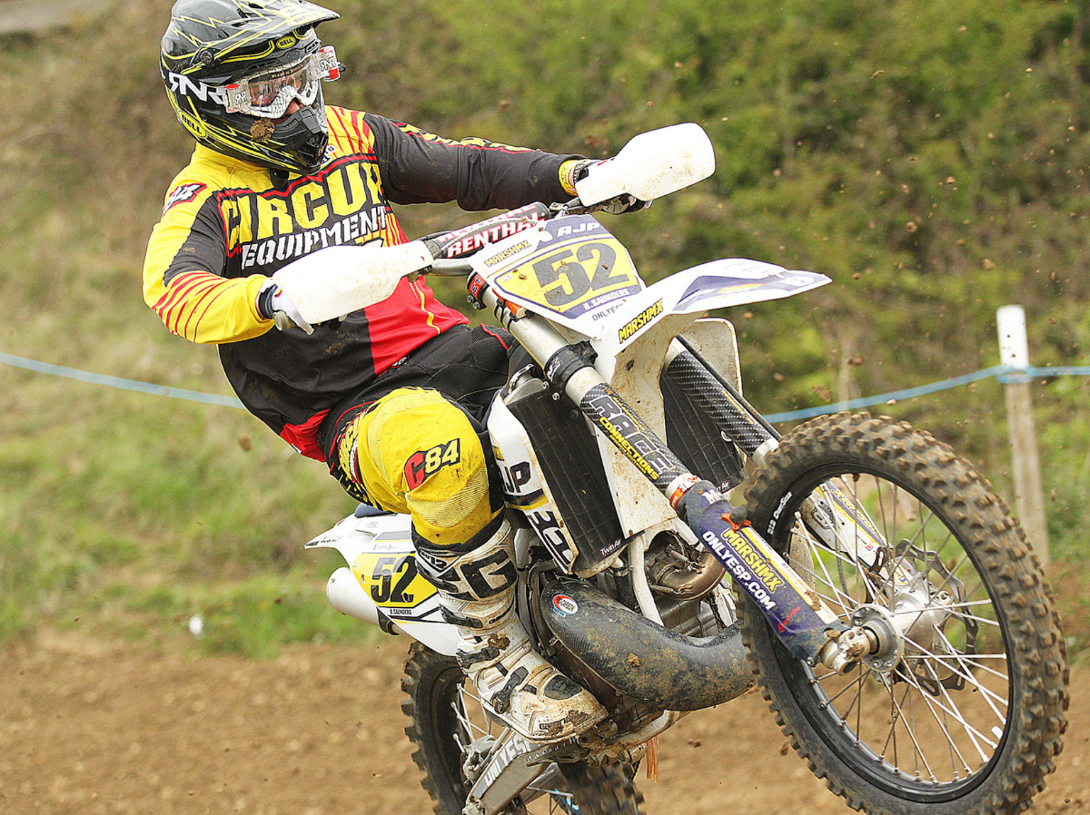 Ben Saunders, 11th in MX1