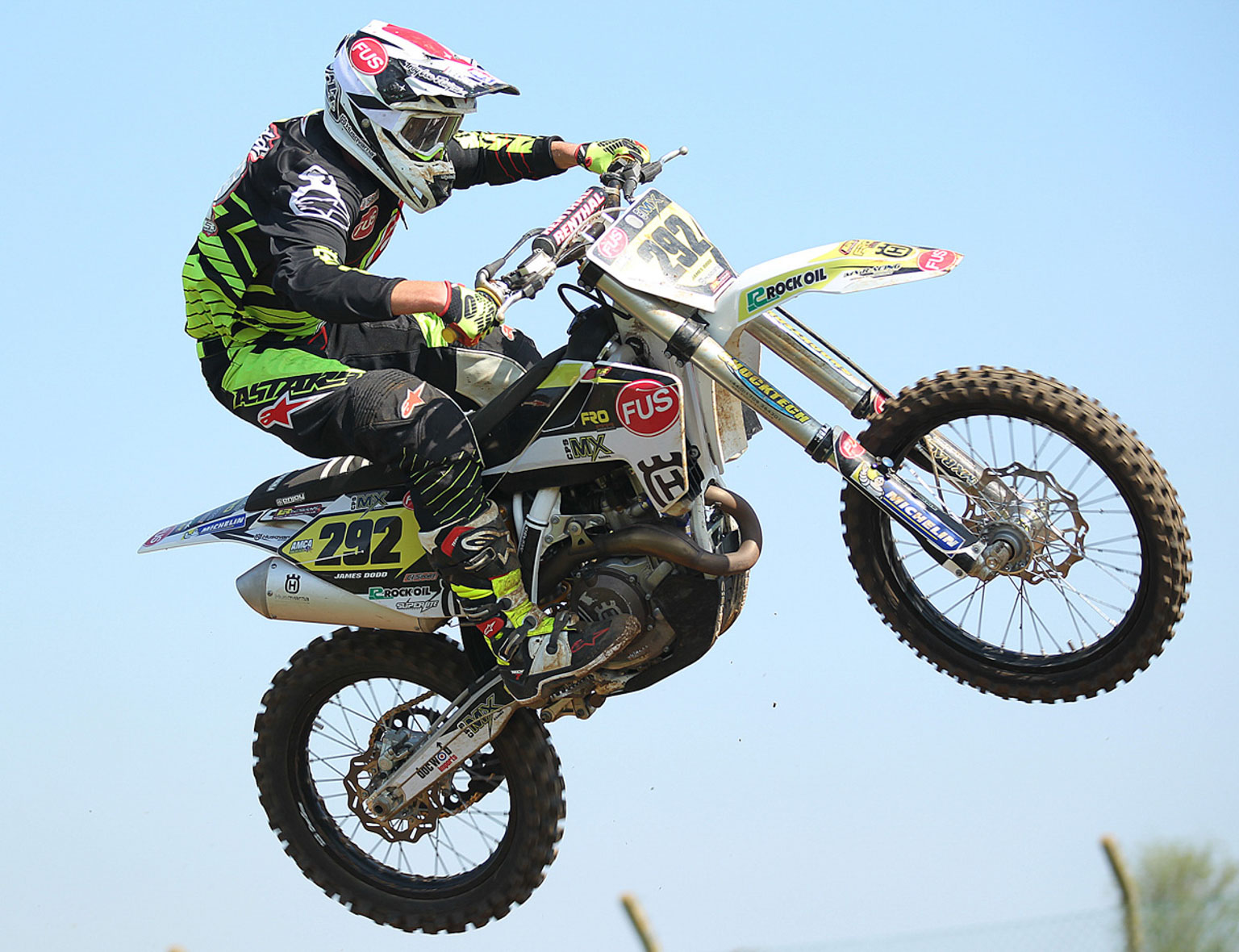 James Dodd, 3rd in MX1