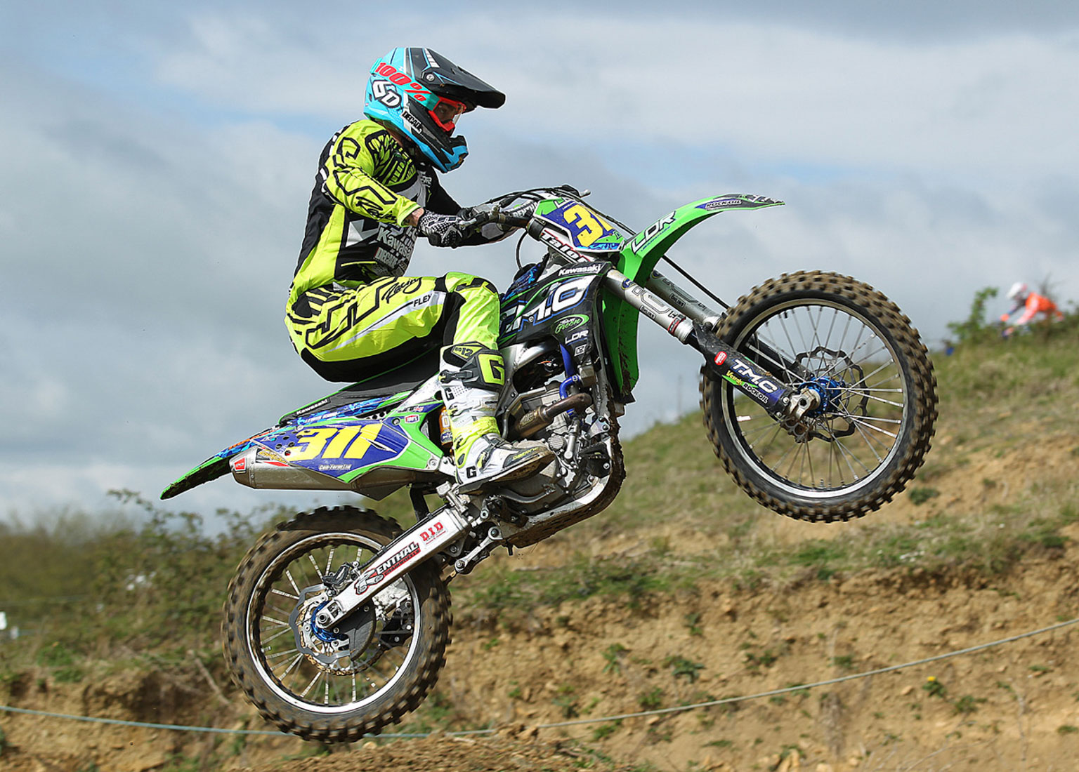 Lewis King, 3rd in MX2