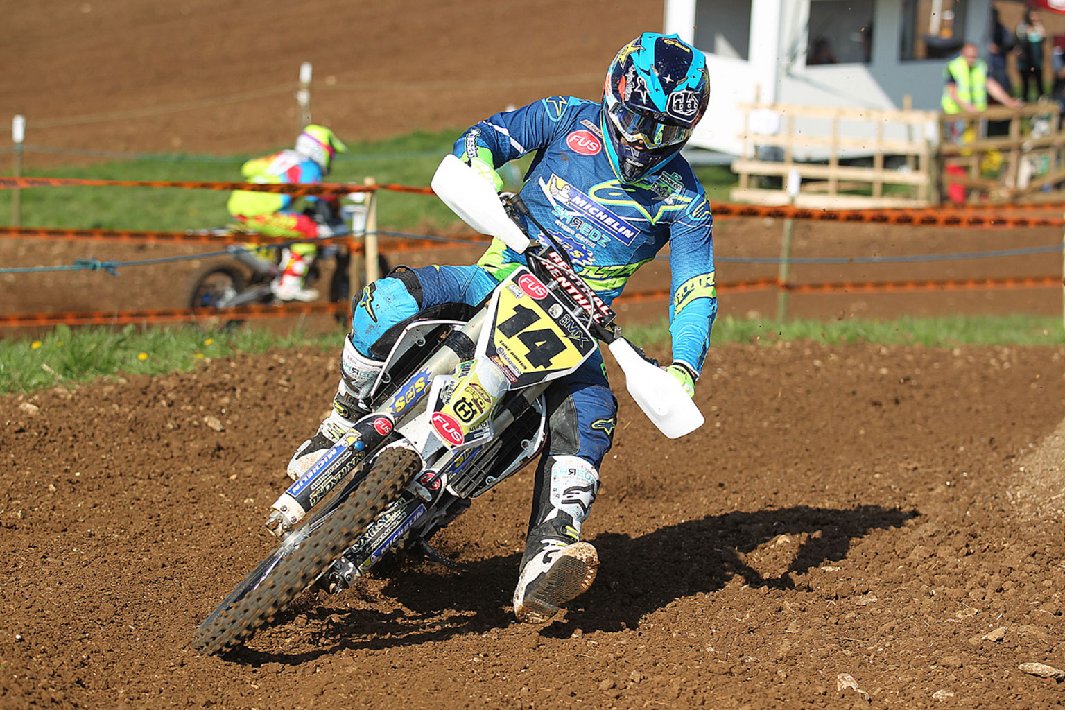 Luke Burton the MX1 winner