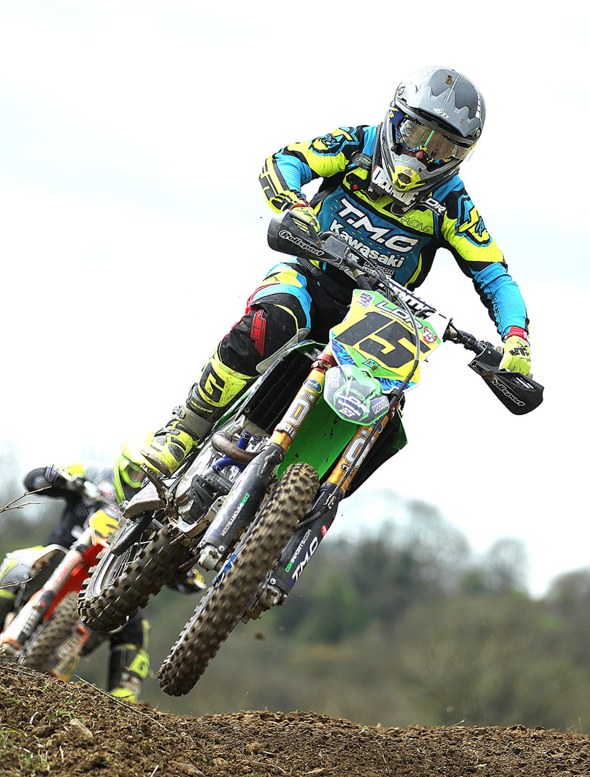 Paul Neale, 5th in MX1