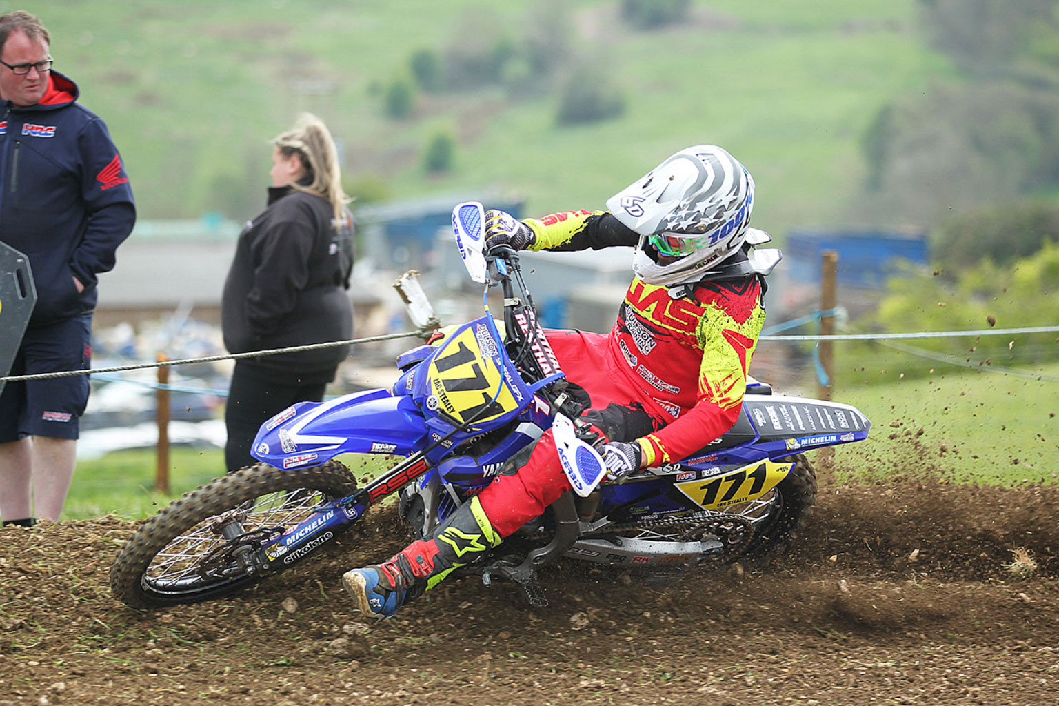 Zac Stealey in MX1