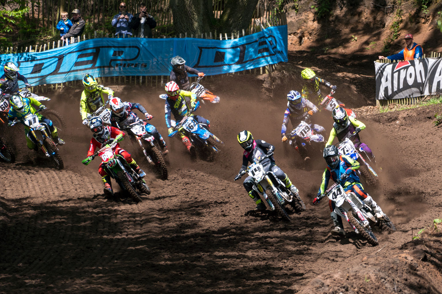EBB's in the hot seat as MX1 blasts off