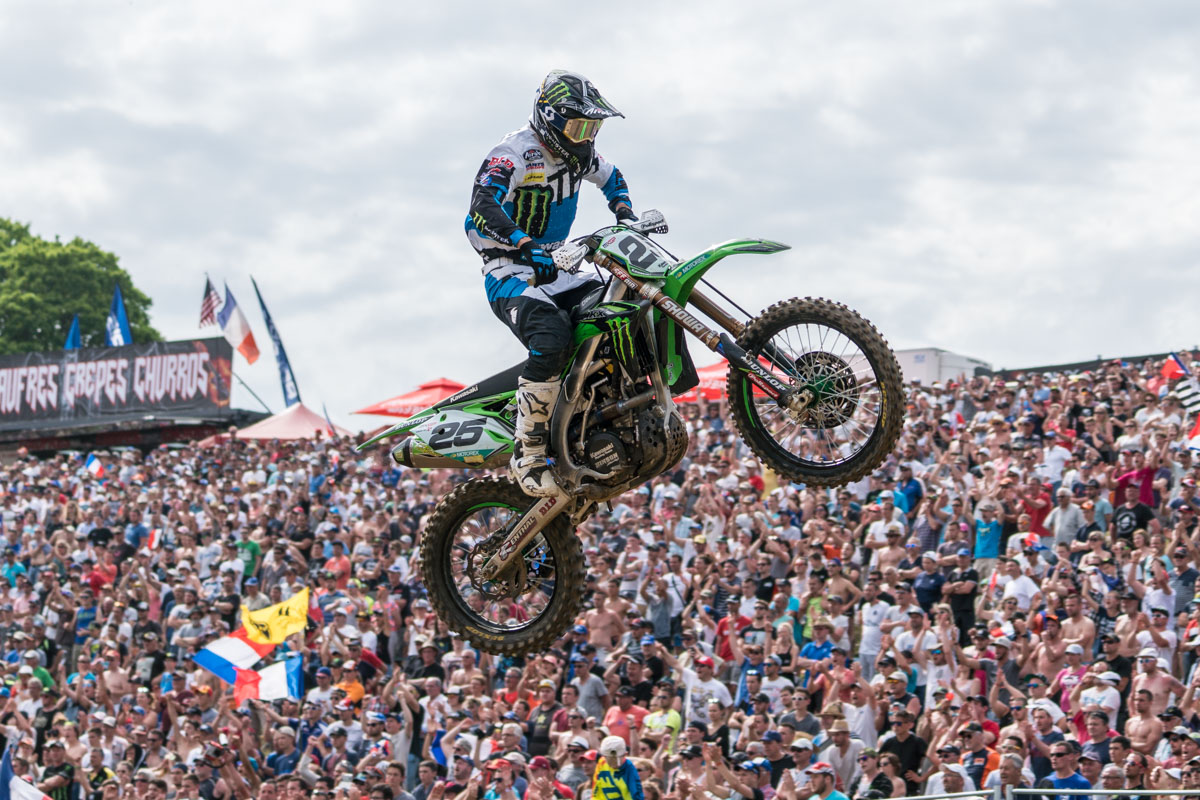 Desalle took the win