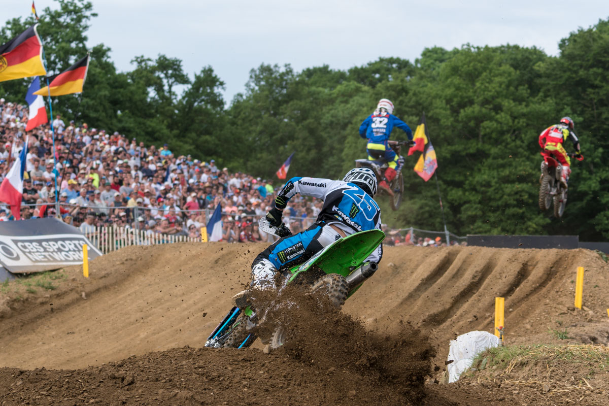 Desalle loved the track