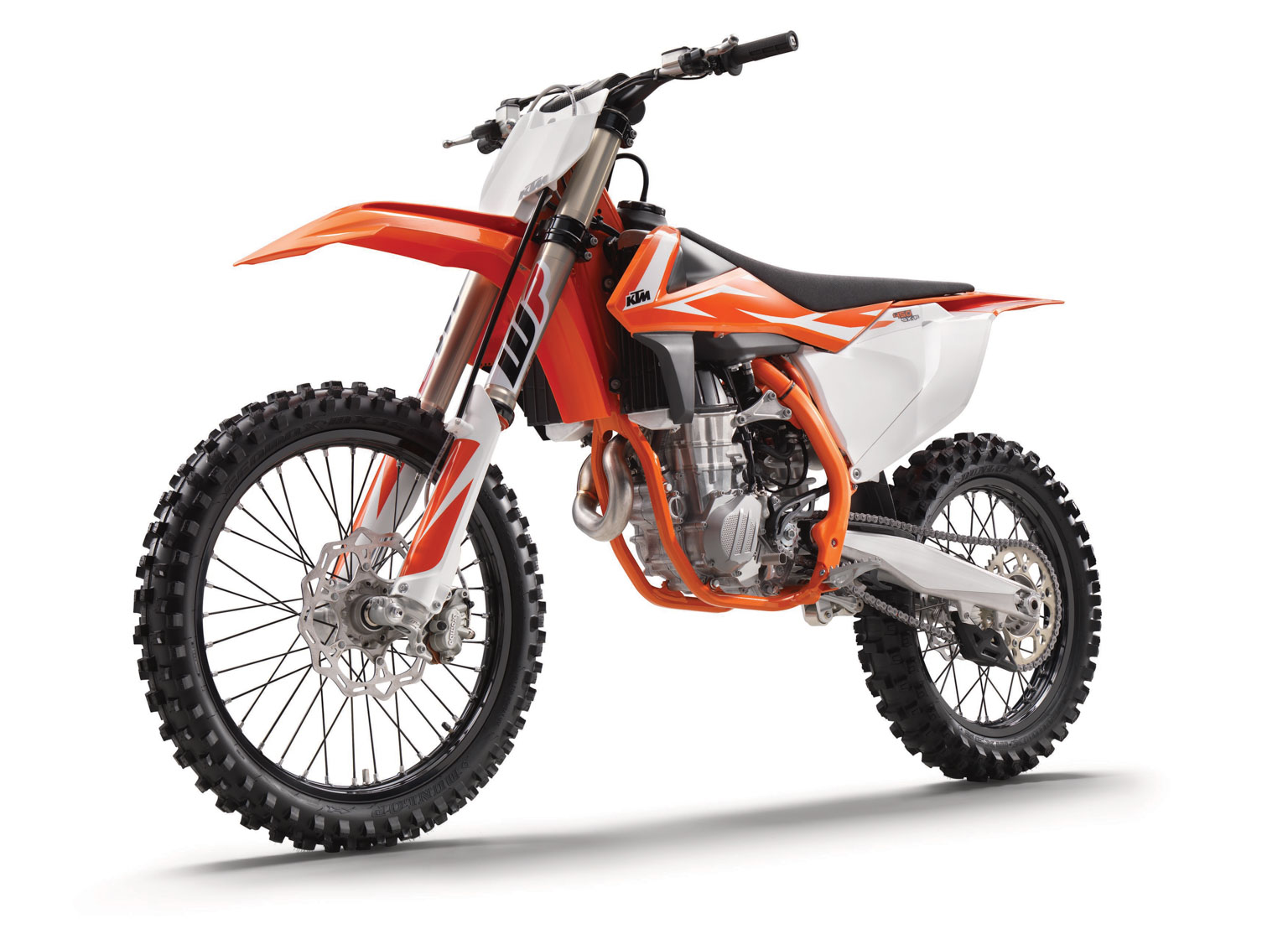 The big boy 450 gets a new orange frame
