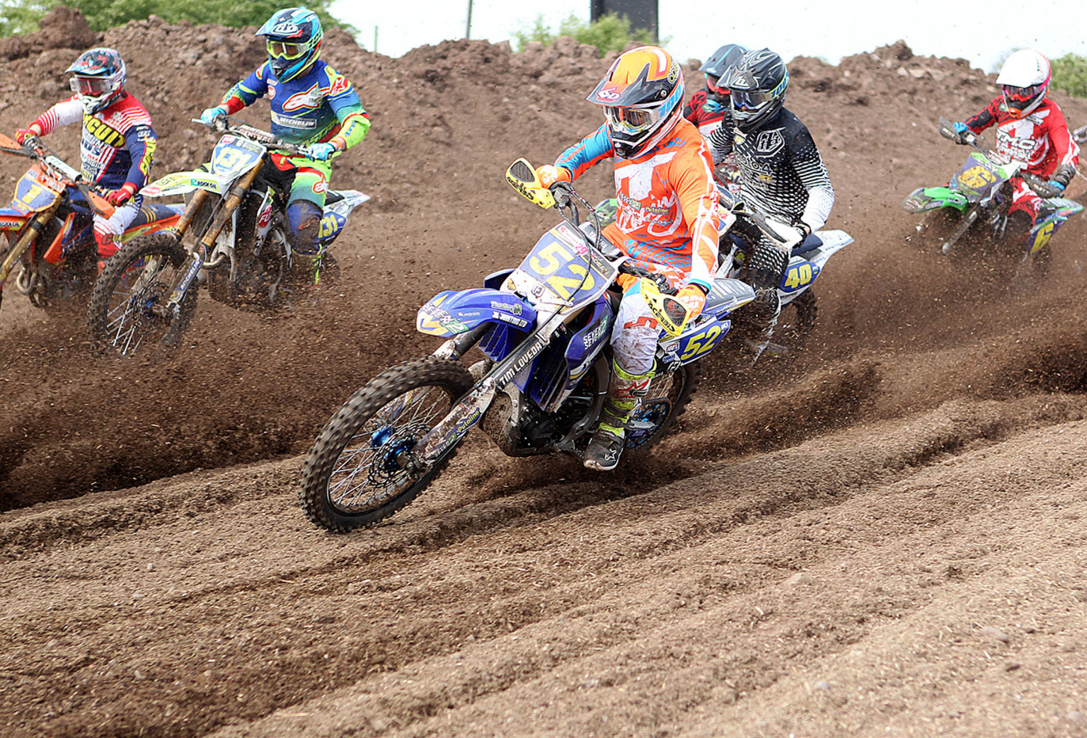 MX2 moto one with Luke Dean(52) in charge