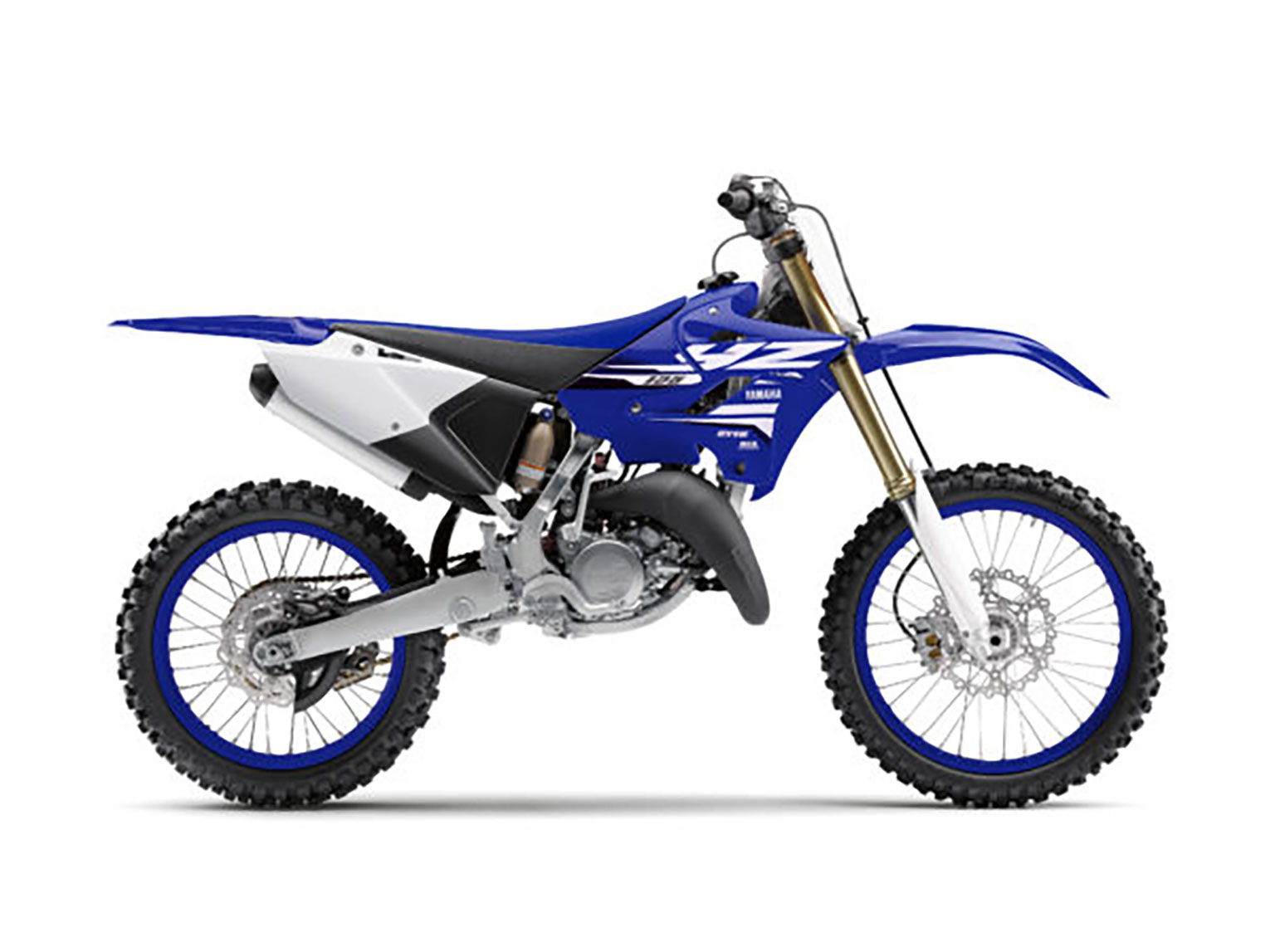 The YZ125 has not changed hugely for years