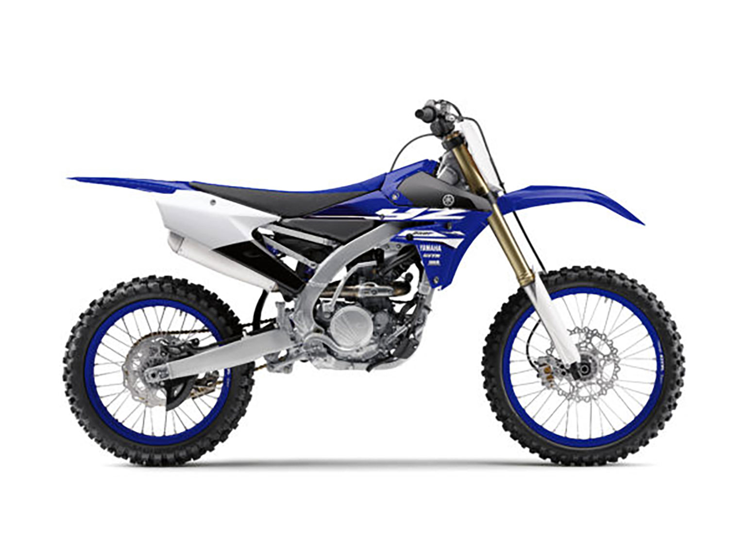 2018 YZF250 gets blue rims and new stickers