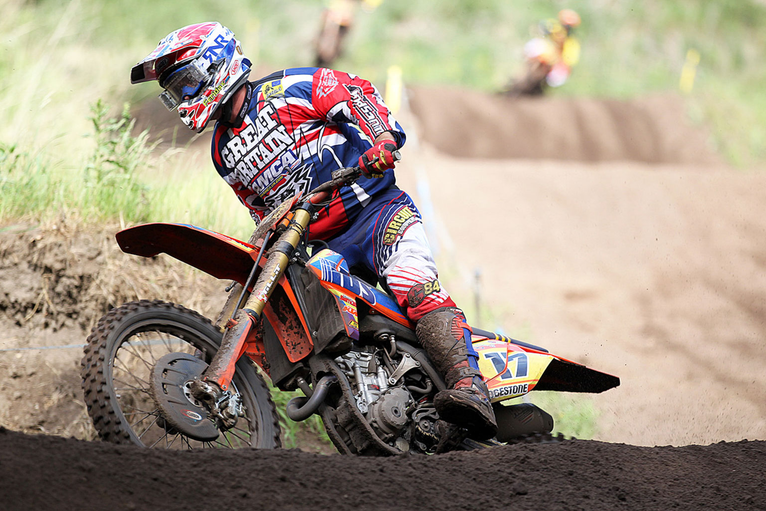 Josh Waterman in moto three