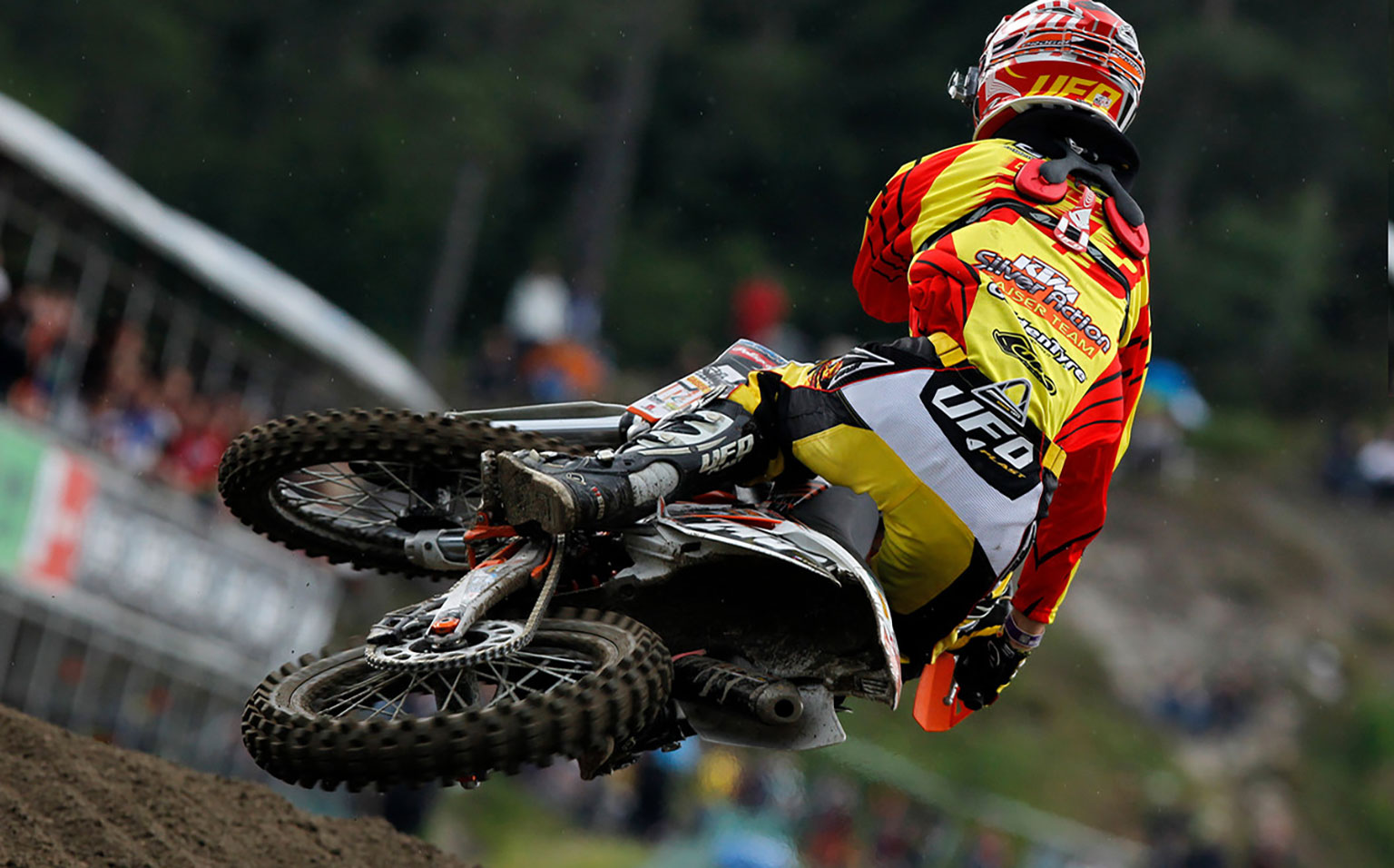 Gajser was once a KTM rider, but was dropped