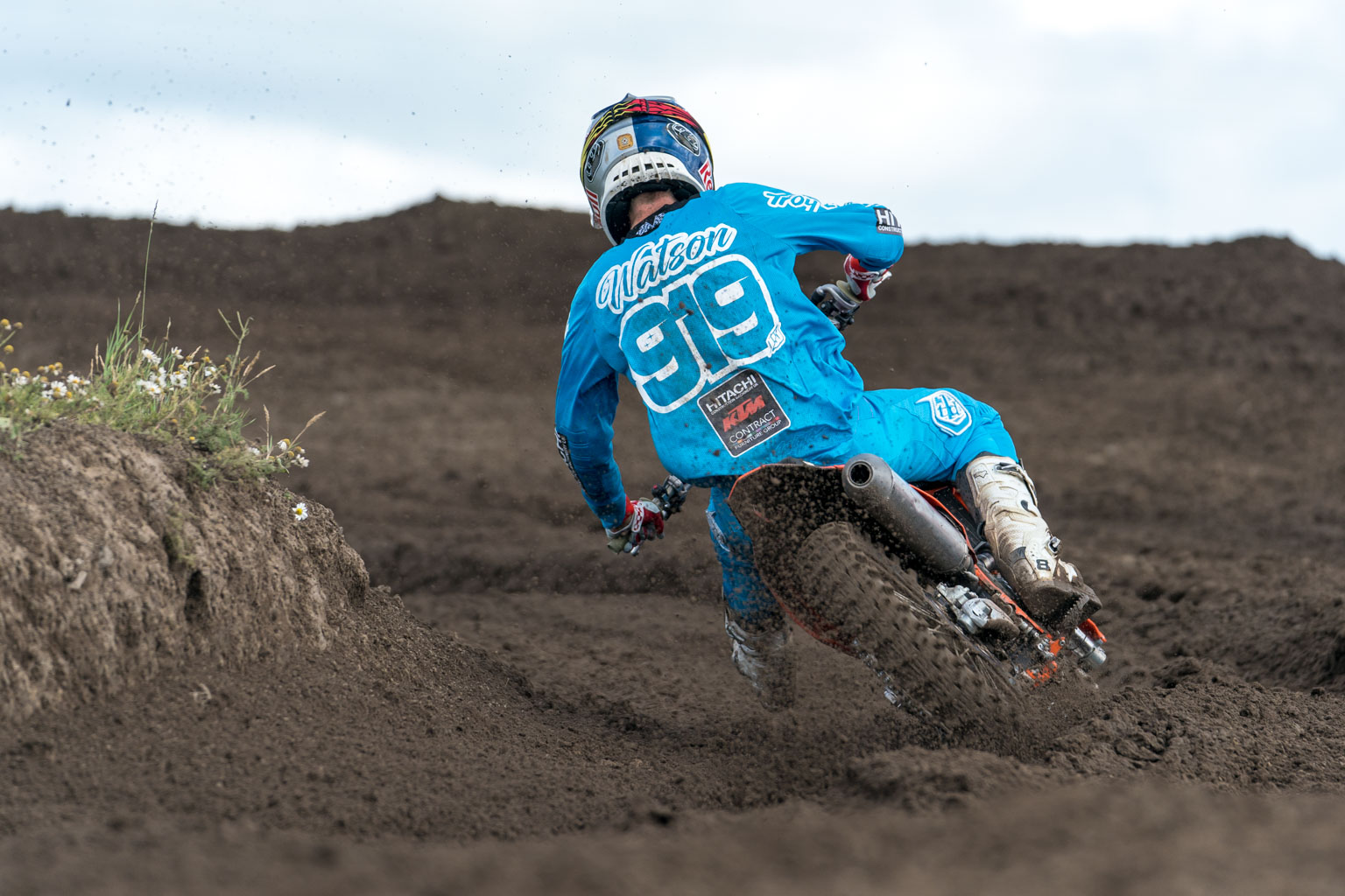 Watson rode well to take the MX2 title