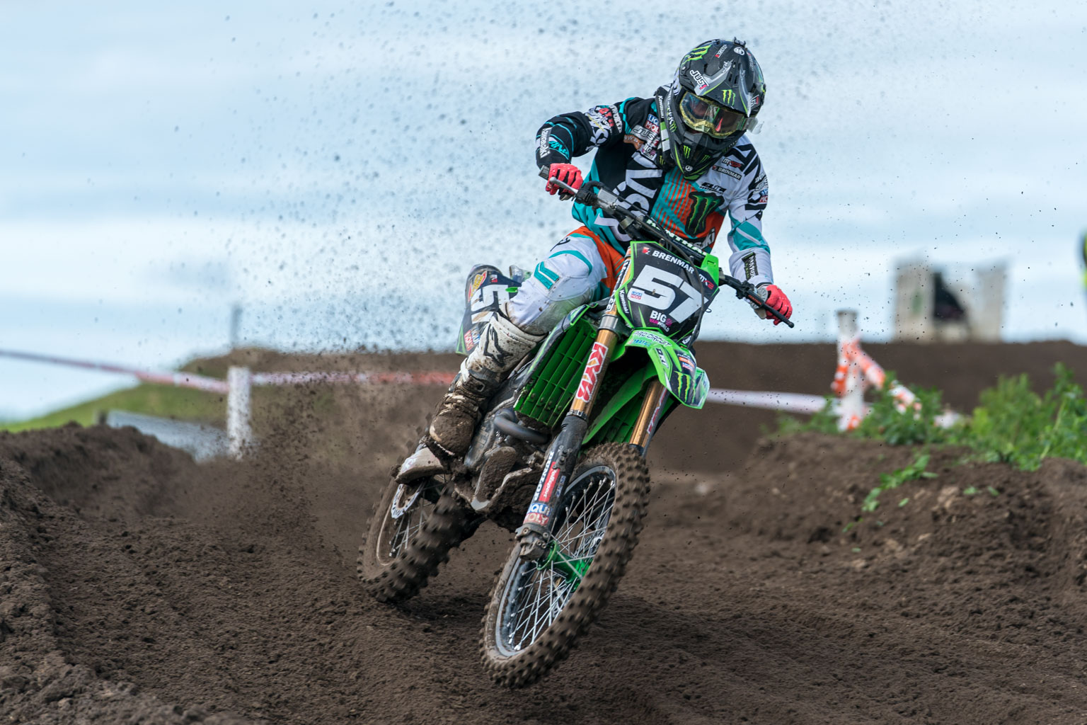 Wildcard Darien Sanayei took the MX2 overall