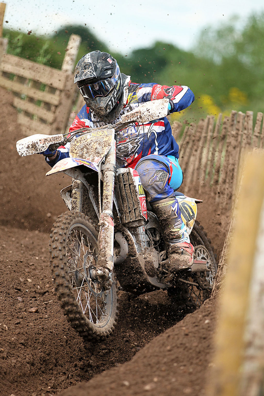 Andrew Smart, 8th in MX1 (1)