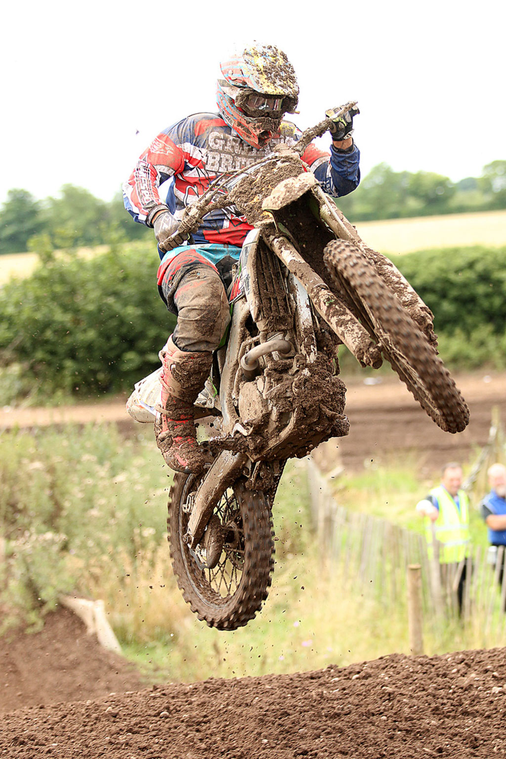 Clinton Barrs, 10th in MX2