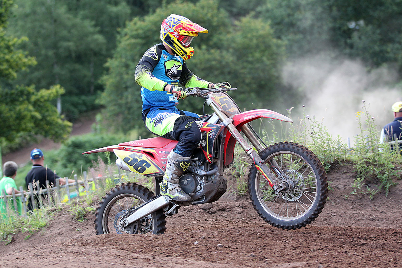 Ed Briscoe, 3rd in MX1