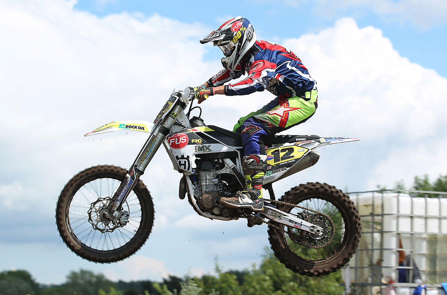 James Dodd, 4th in MX1