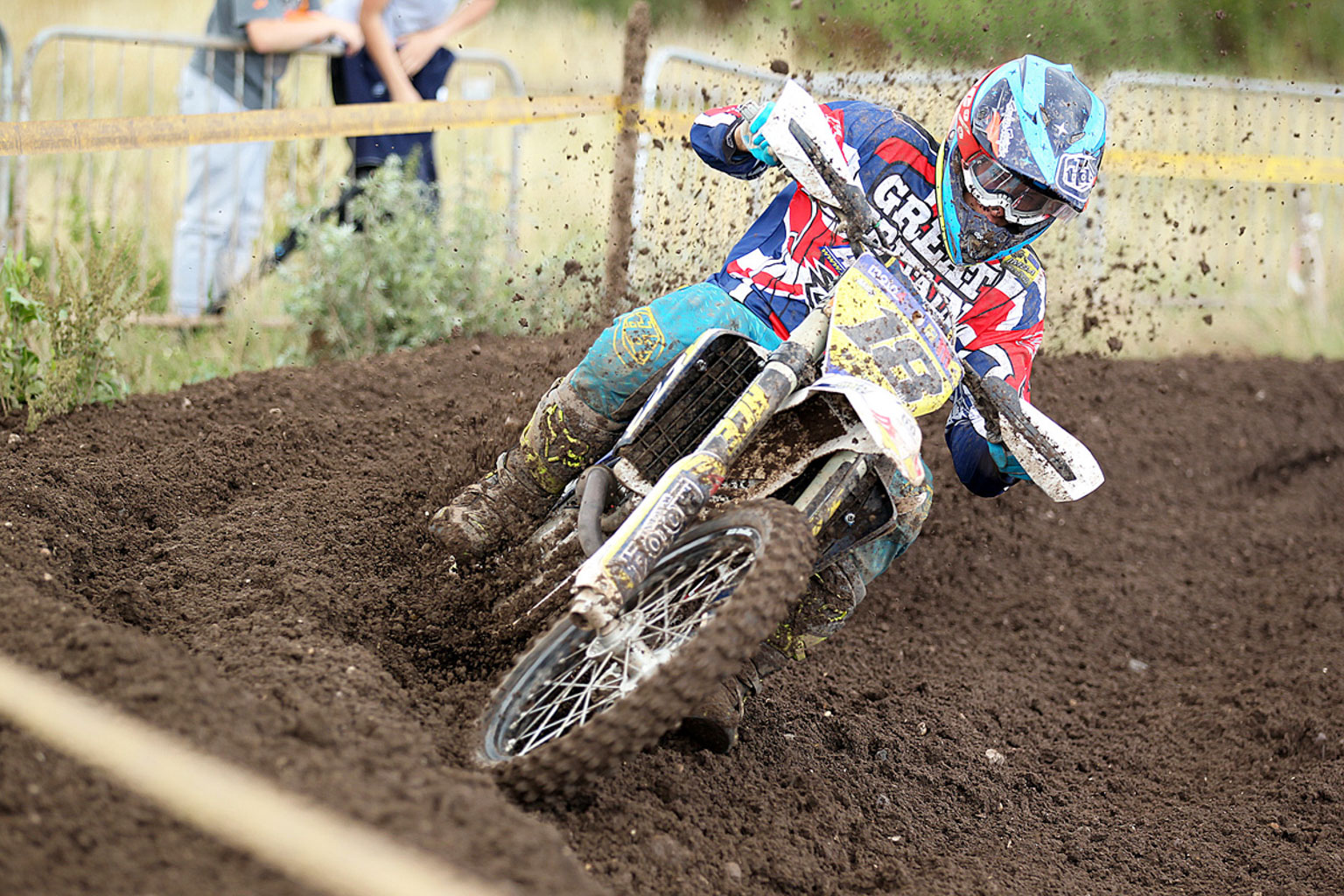 James Wainwright, 3rd in MX2 (1)