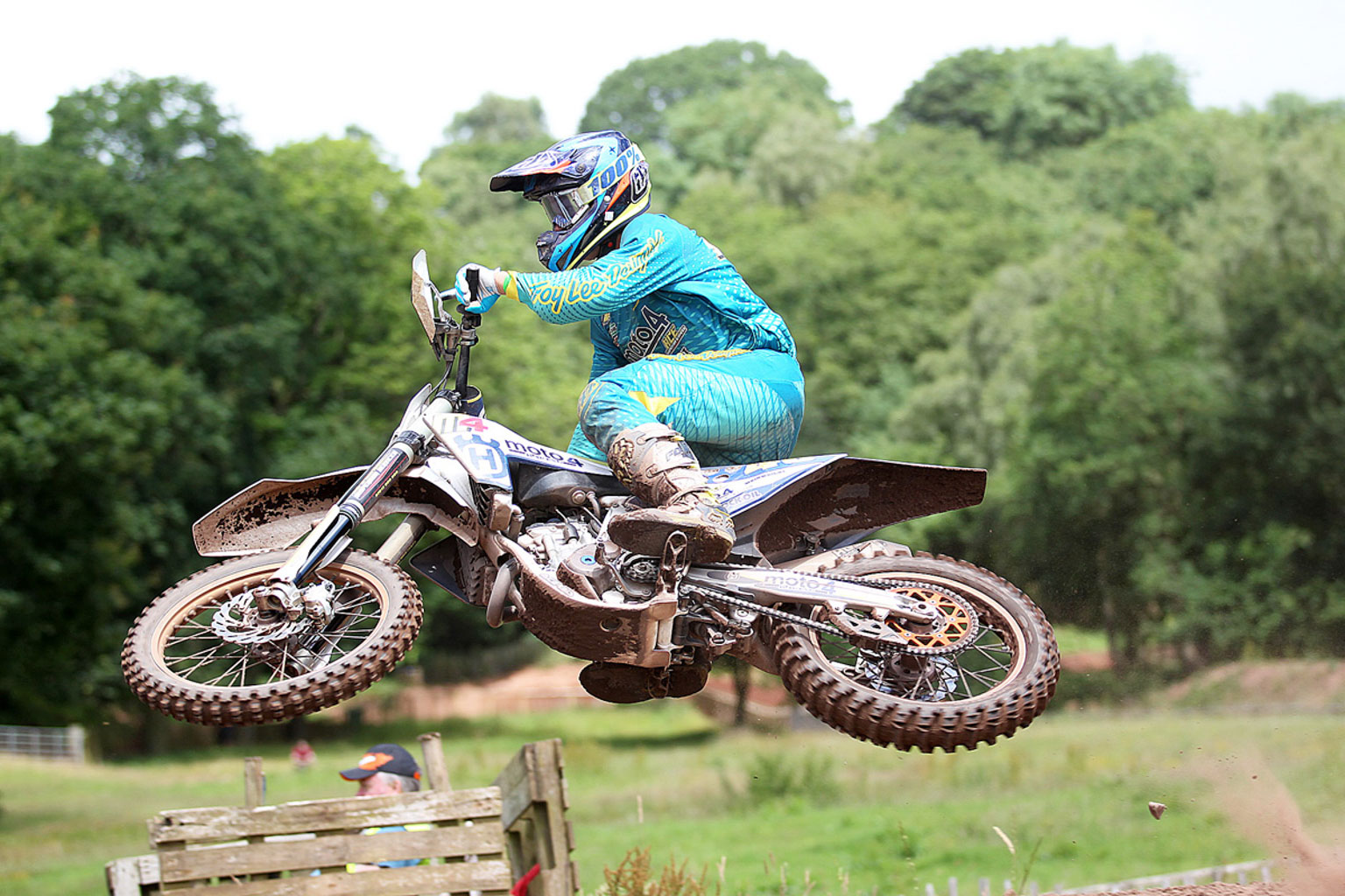 James Wainwright, 3rd in MX2