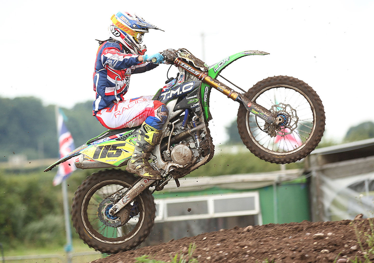Paul Neale, 7th in MX1