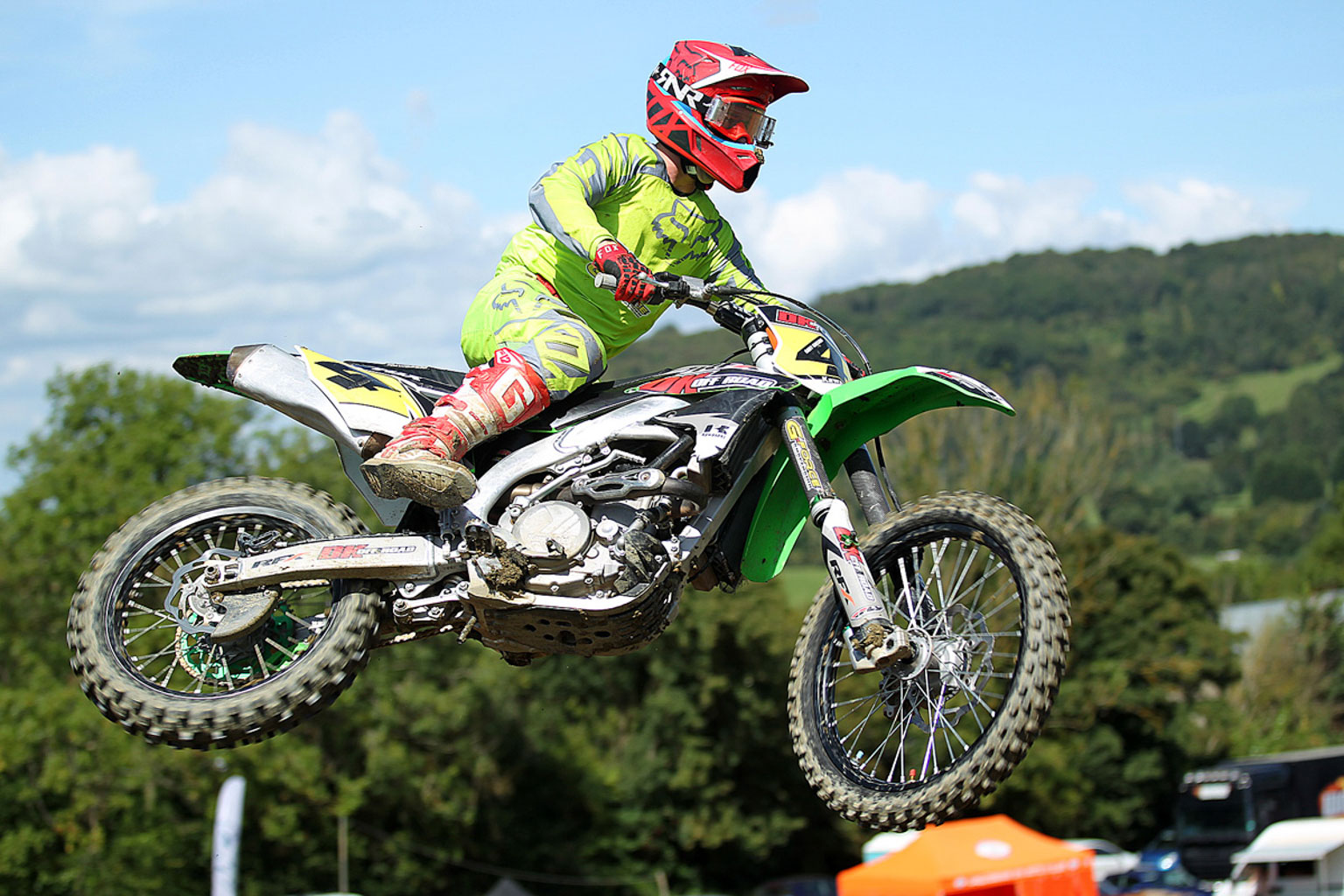 Gary Gibson, 4th in MX1
