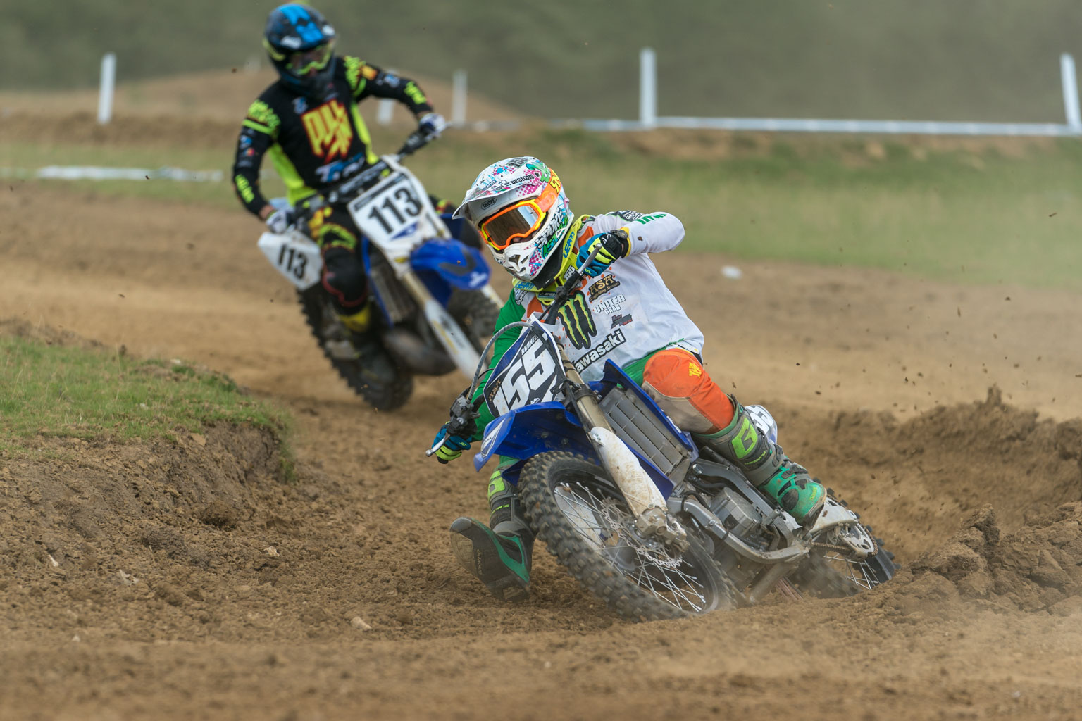 Jack Brunell was in fine form to win the 125 Faster class